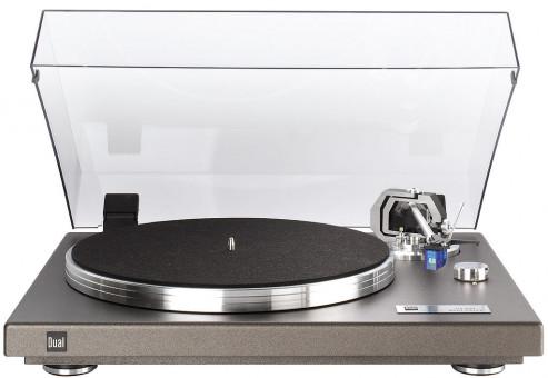 Dual CS 550 Plattenspieler anthrazit metallic
