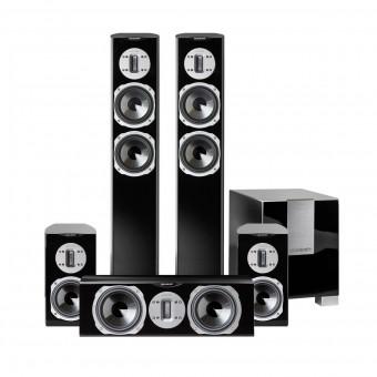 quadral Style 6 Set - 5.1 Surround schwarz Hochglanz