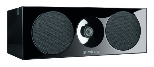 quadral Platinum+ one schwarz Hochglanz