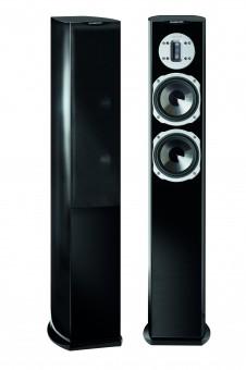quadral Style 6 schwarz Hochglanz